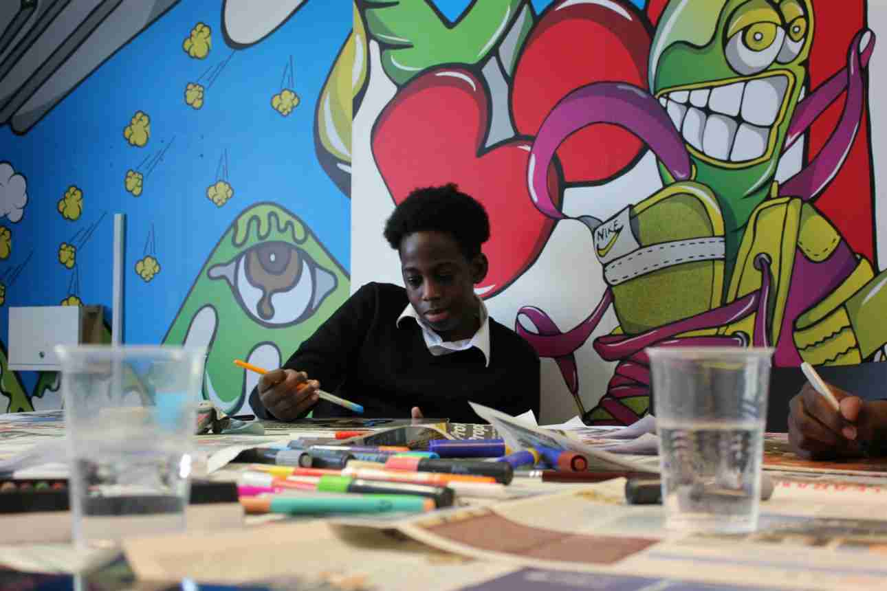 Arco Academy art class