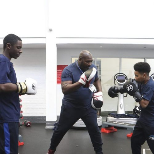 Arco Academy boxing session